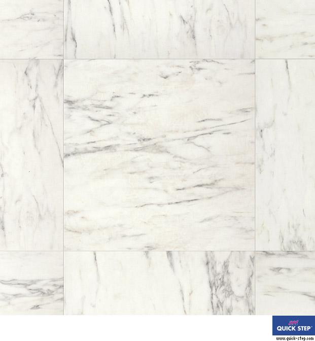 Quick Step Laminado Arte - UF1400 Marmol carrara